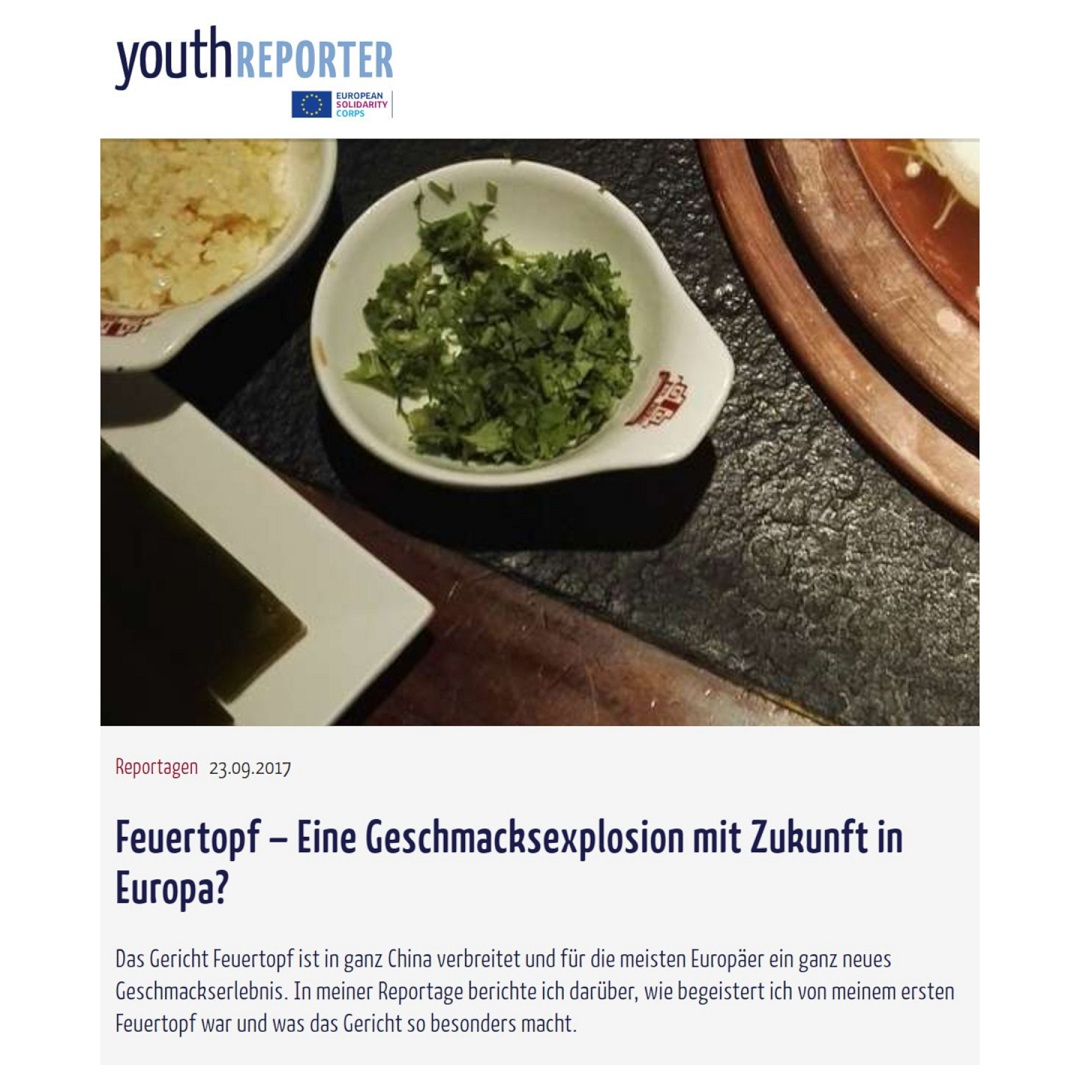 Youthreporter Feuertopf