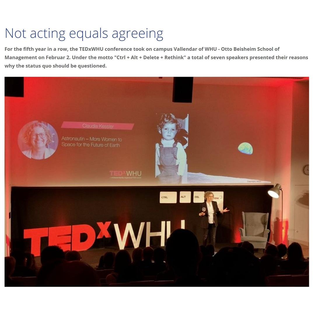 TEDx WHU 2019