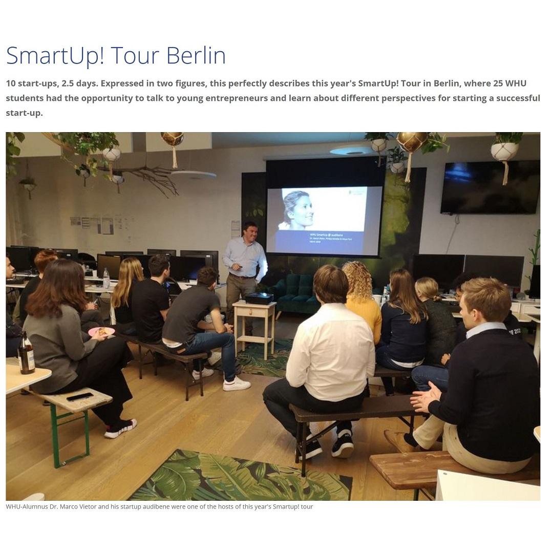 SmartUp! Tour Berlin