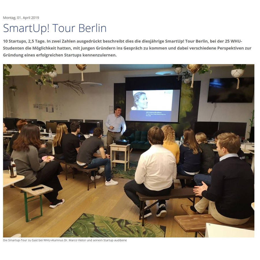 SmartUp Tour Berlin