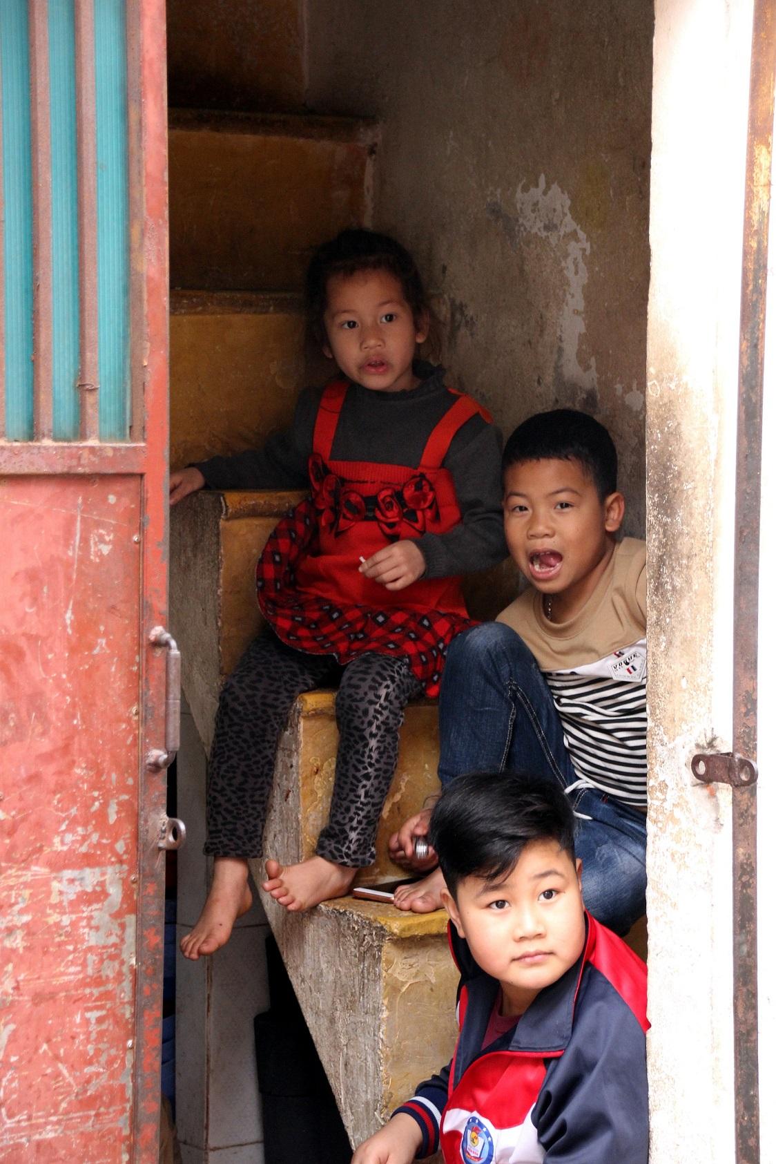 Vietnamesische Kinder Bild