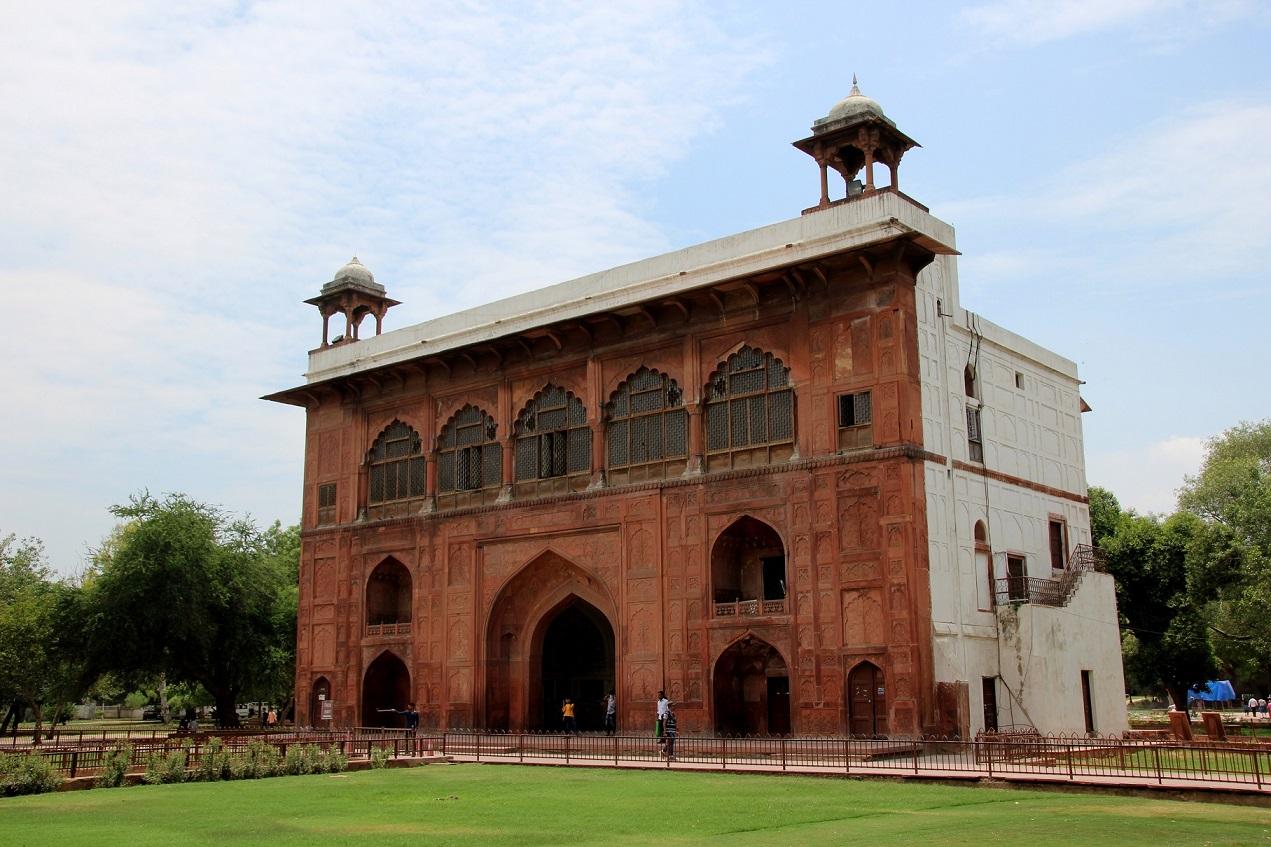 Delhi Rotes Fort Indien Bild