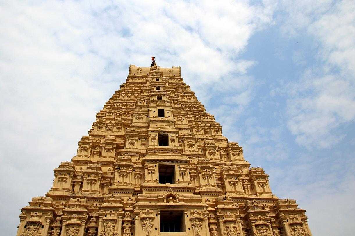 Virupaksha Tempel Indien Bild