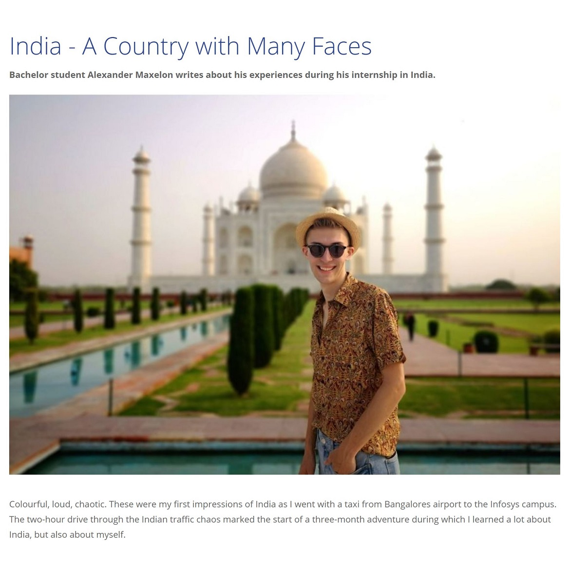 India A Country with Many Faces