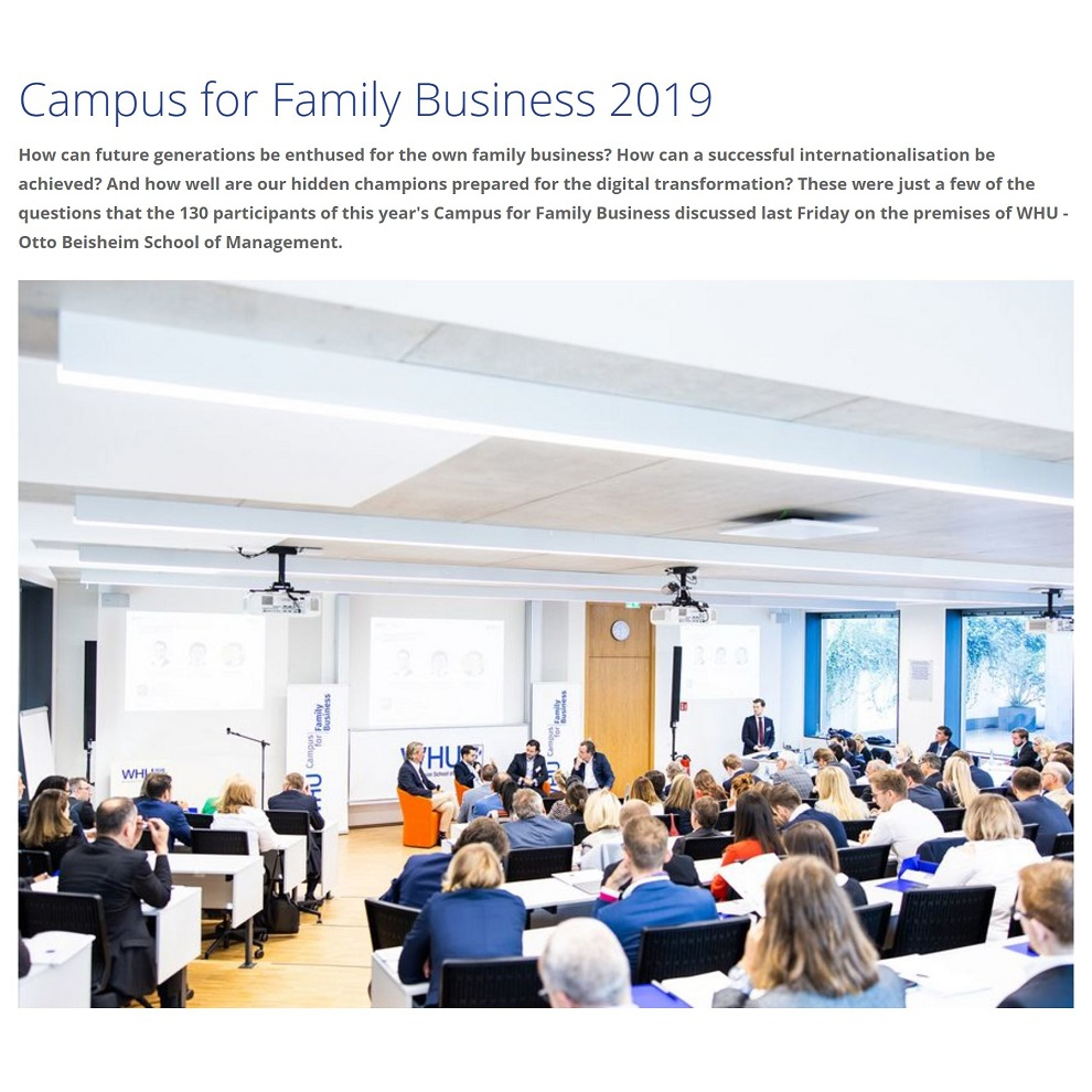 Campus for Family Business