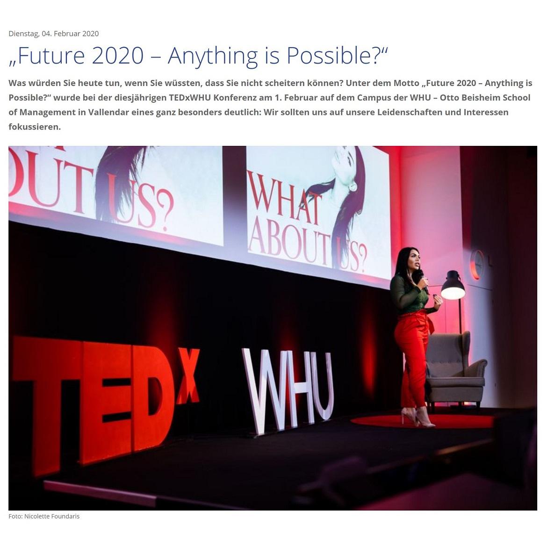 TEDxWHU 2020